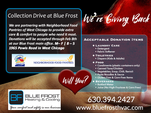 Blue Frost Collection Drive