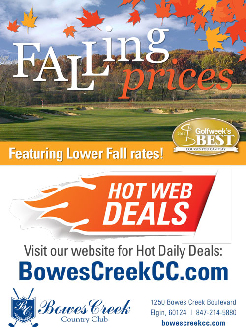 Falling Prices at Bowes Creek