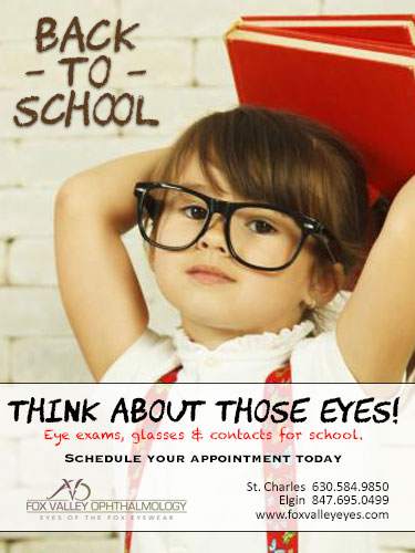 Back to School Success at Fox Valley Ophthalmology