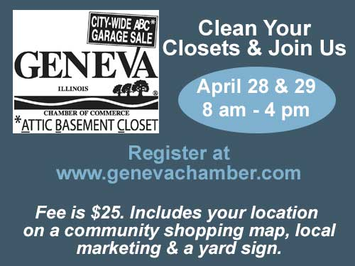 Geneva Chamber City Wide Garage Sale