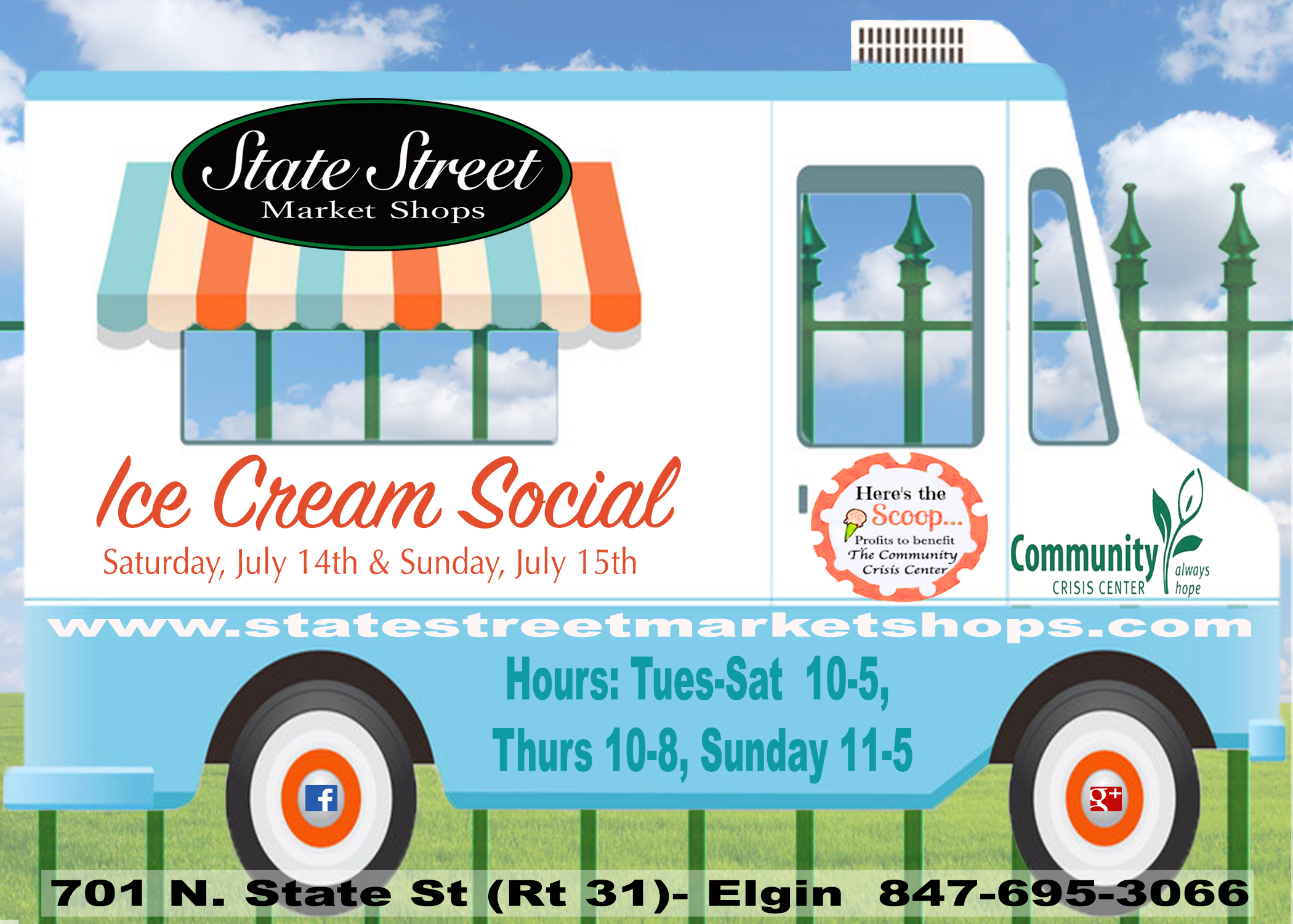 Ice Cream Social at State Street Market Shops