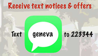 Text geneva to 223344 for mobile offers