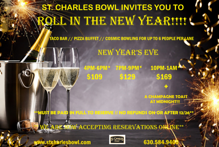 New Year's Eve at St. Charles Bowl