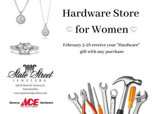Free Gift this month at State Street Jewelers
