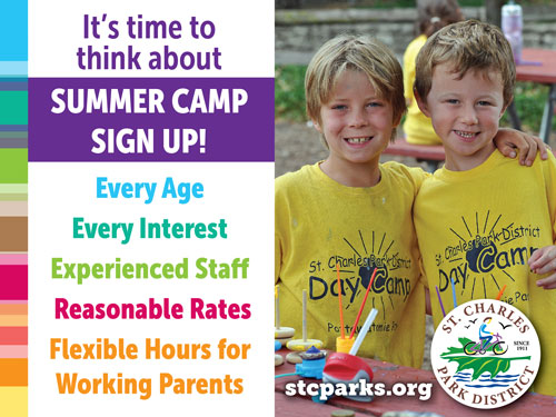 summer camps at st. charles park district