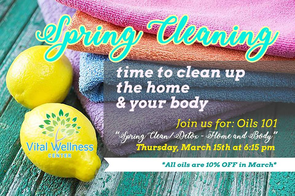 Spring Clean/Detox Workshop at Vital Wellness Center