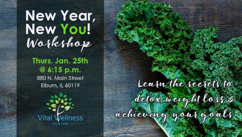 New Year, New You Workshop with Vital Wellness