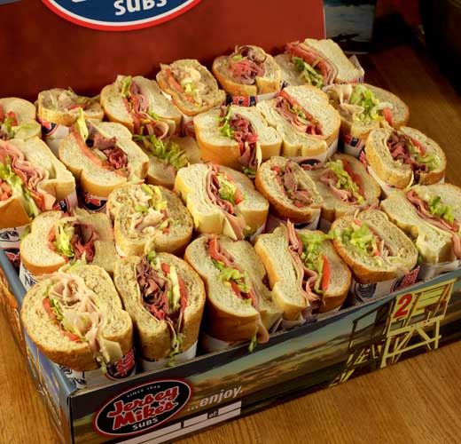 Try Jersey Mike's for all your catering needs!