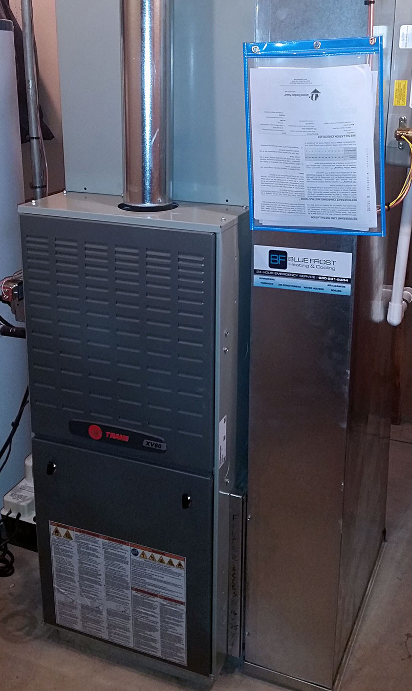 Blue Frost Heating & Cooling