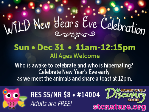 WILD New Year's Eve with St. Charles Park District