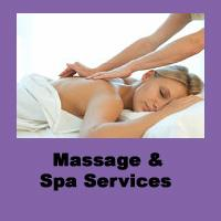 Massage and Spa Services at Halsa!